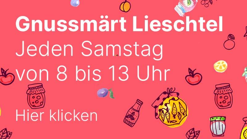 Gnussmärt Lieschtel